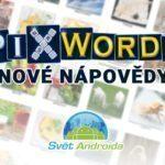 PixWords pomocník – nápověda k novým obrázkům