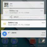 Nexus 6 – notifikační lišta (2)