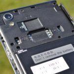 Lenovo P70 – sloty pro SIM a Micro SD