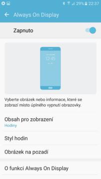 Samsung Galaxy S7 Always On 1