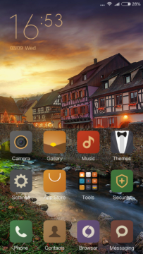 Xiaomi Mi4S – Homescreen