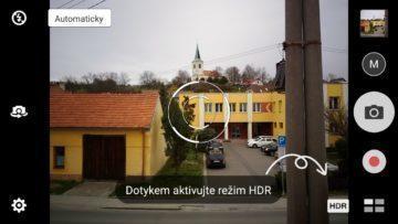 Asus Zenfone Max fotoaplikace nápověda