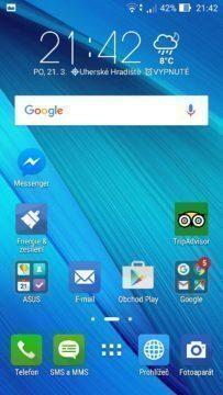 Asus Zenfone Max launcher