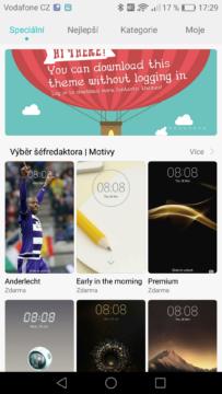 Huawei P9 motivy