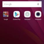Huawei P8 –  domácí obrazovka