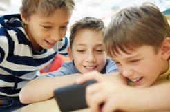 Messaging children