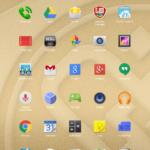 Prestigio MultiPad Consul 7008 4G –  menu aplikací