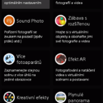 Sony Xperia M4 Aqua – prostředí fotoaparátu (2)