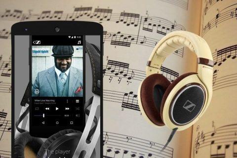 sennheiser přehrávač hudby