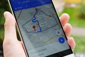 Google Mapy náhledový