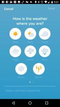 Jak vypadá počasí?