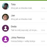 Vodafone Smart ultra 6 –  SMS Vodafone aplikace