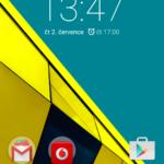 Vodafone Smart ultra 6 – domácí obrazovka