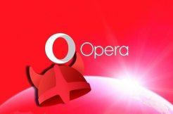 Opera Free VPN – náhleďák