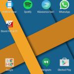 Sony Xperia Z5 – systém, domácí obrazovka