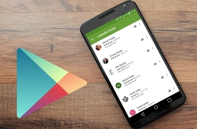 Falešné recenze Google Play