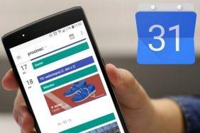 Google kalendář a špatné návyky