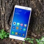 Xiaomi Redmi Note 3 – konstrukce, přední část telefonu (1)