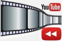 přetáčení YouTube videa