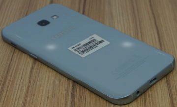 Galaxy A5 (2017) zadni strana