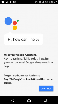 Google Assistant Sony Xperia (1)