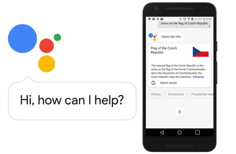 Pomocník Google Assistant
