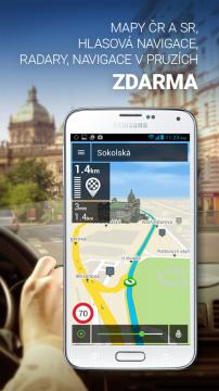 GPS NACESTY - offline navigace