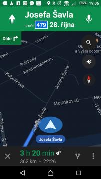 Mapy Google Nejlepší navigace pro Android