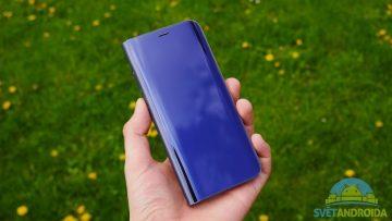Recenze Samsung S8 obal flipcase