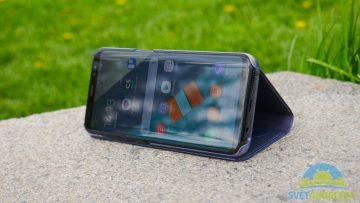 Recenze Samsung S8 obal displej viditelnost