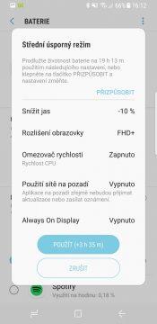 Samsung Galaxy S8 parametry recenze systém baterie nastavení