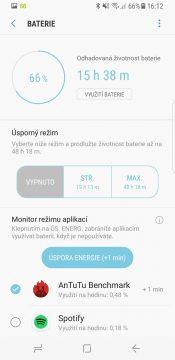Samsung Galaxy S8 parametry recenze systém baterie nastavení výdrž