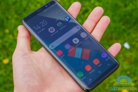recenze Samsung Galaxy S8