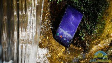 Samsung S8 recenze konstrukce voděodolnost