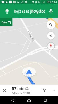 Bez internetového připojení funguje navigace