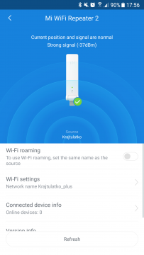 WiFi signal – Xiaomi mi wifi amplifier 2 – 7