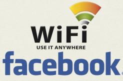 Wi-Fi síť facebook
