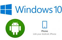 windows propojeni s androidem