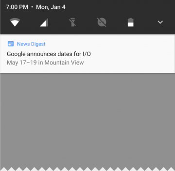 Android O notifikace