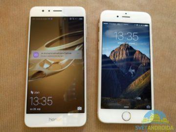 Honor 8 vs. iPhone 1