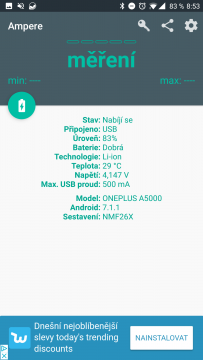 nenabiji telefon aplikace Ampere