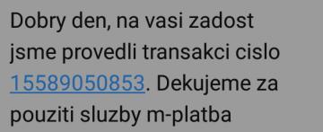podvodne sms transakce