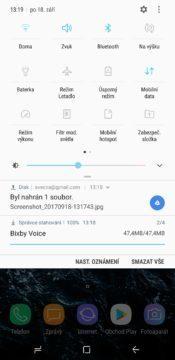 Samsung Galaxy Note 8 lišta 2