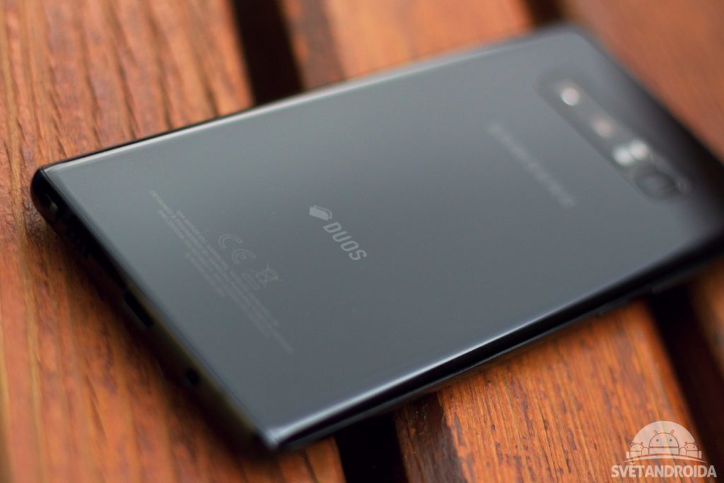 Samsung Galaxy Note 8 záda 2