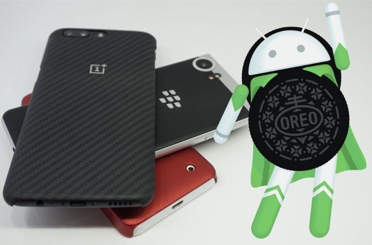 android 8 oreo aktualizace telefony