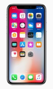 apple iphone x displej