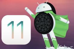 ios 11 android 8 oreo