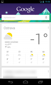 Nexus 4: Chytré karty Google