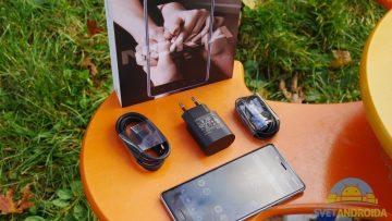Telefon Nokia 8-konstrukce-obsah baleni