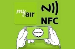 my air nfc platby telefonem